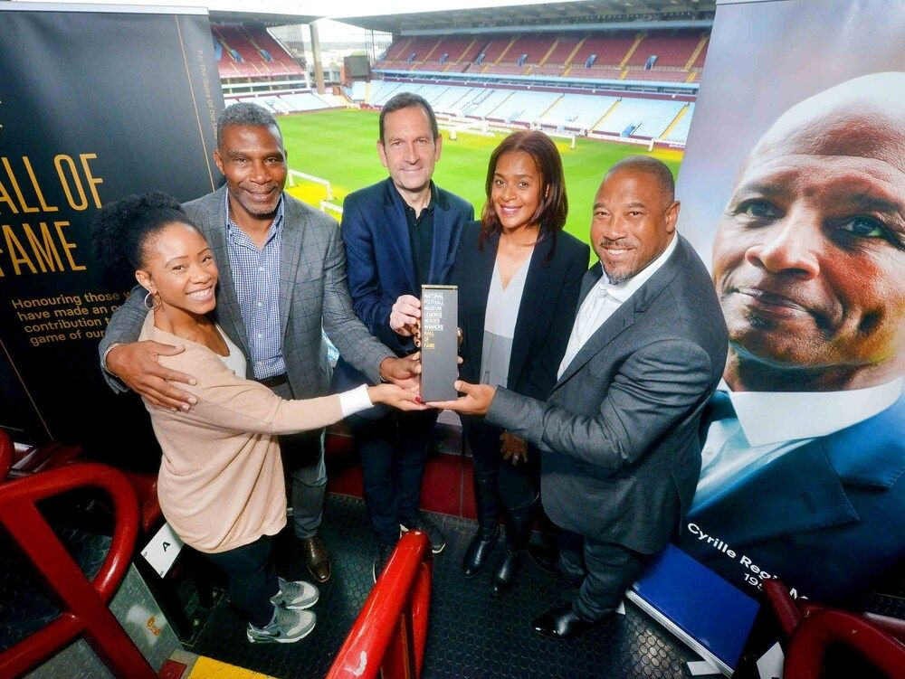 Cyrille Regis Inducted into Football's Hall of Fame