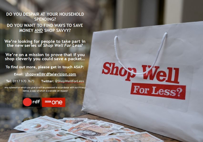 Shop Well For Less Poster